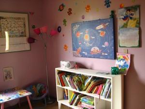 jasny pokój dziecięcy